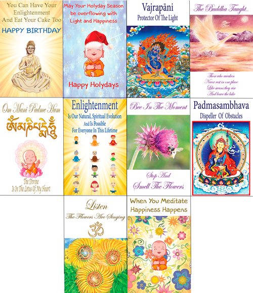 Mystical Greeting Cards Deluxe Premium Package 7 Card Package